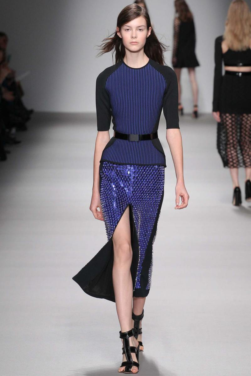 David Koma Ready to Wear FW 2015 LFW (29)