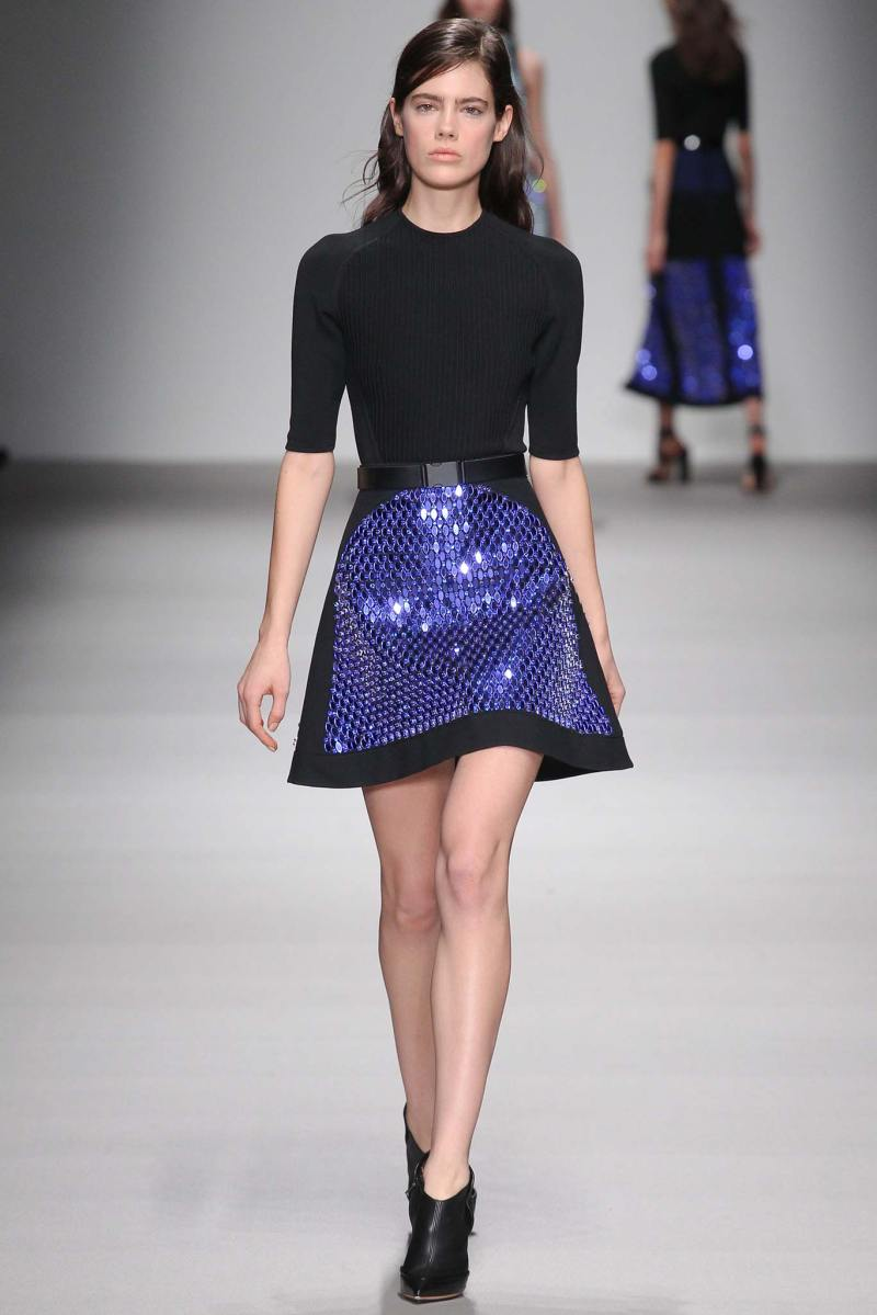 David Koma Ready to Wear FW 2015 LFW (31)