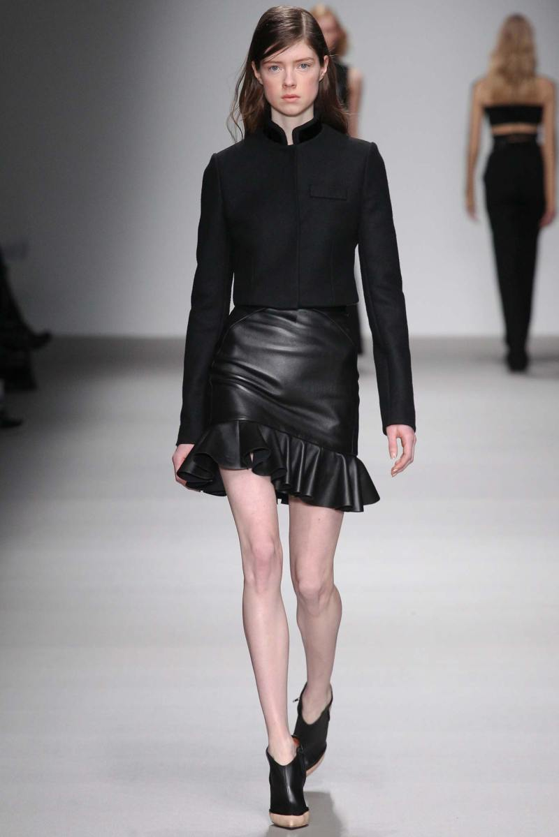 David Koma Ready to Wear FW 2015 LFW (6)