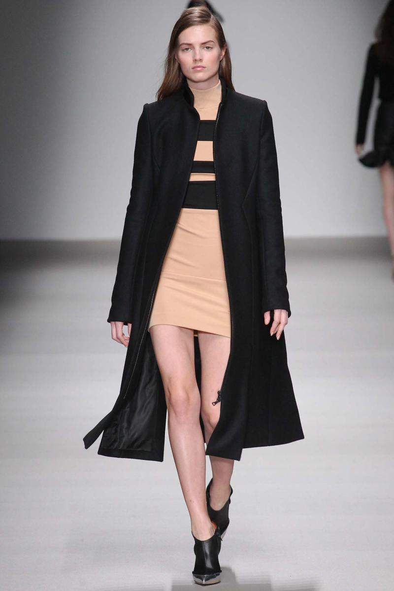 David Koma Ready to Wear FW 2015 LFW (8)
