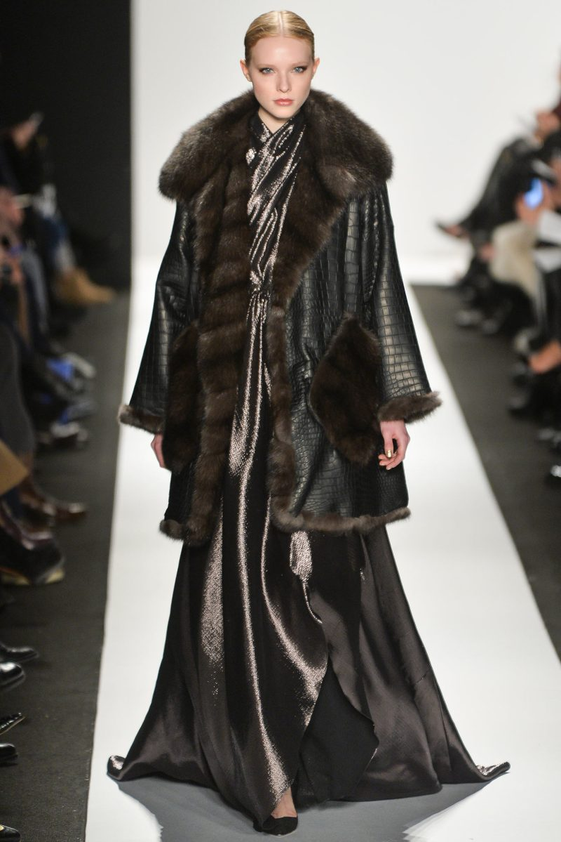 Dennis Basso Ready to Wear FW 2015 NYFW (34)