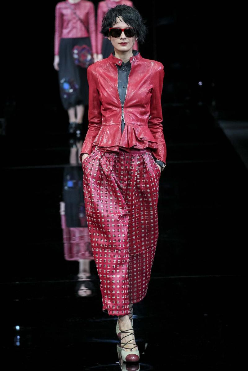 Emporio Armani Ready to Wear FW 2015 MFW (12)
