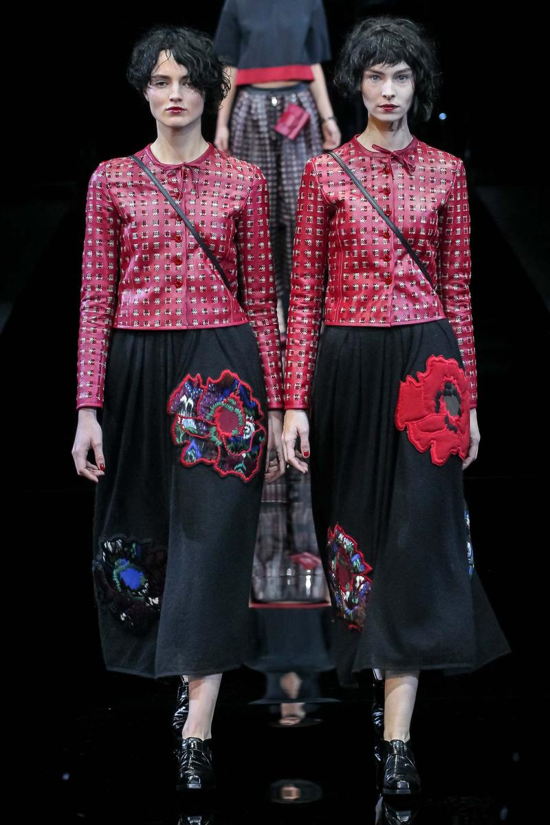Emporio Armani Ready to Wear FW 2015 MFW (13)