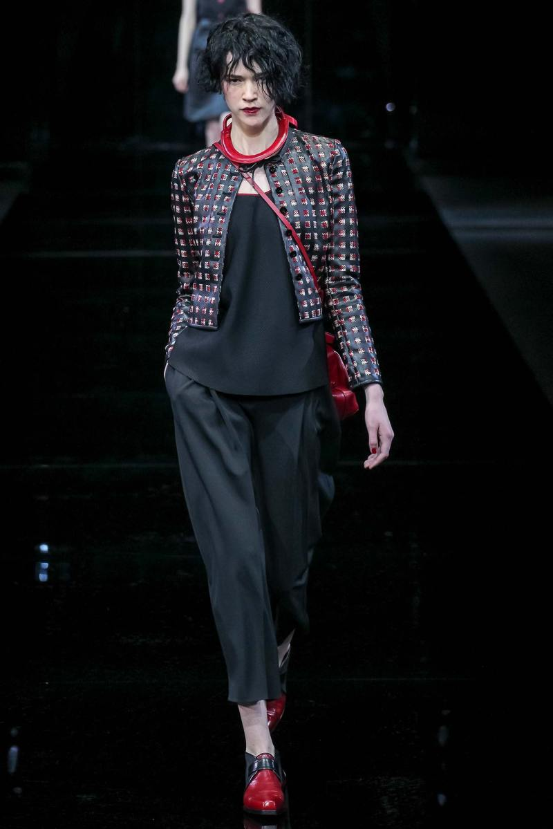 Emporio Armani Ready to Wear FW 2015 MFW (15)