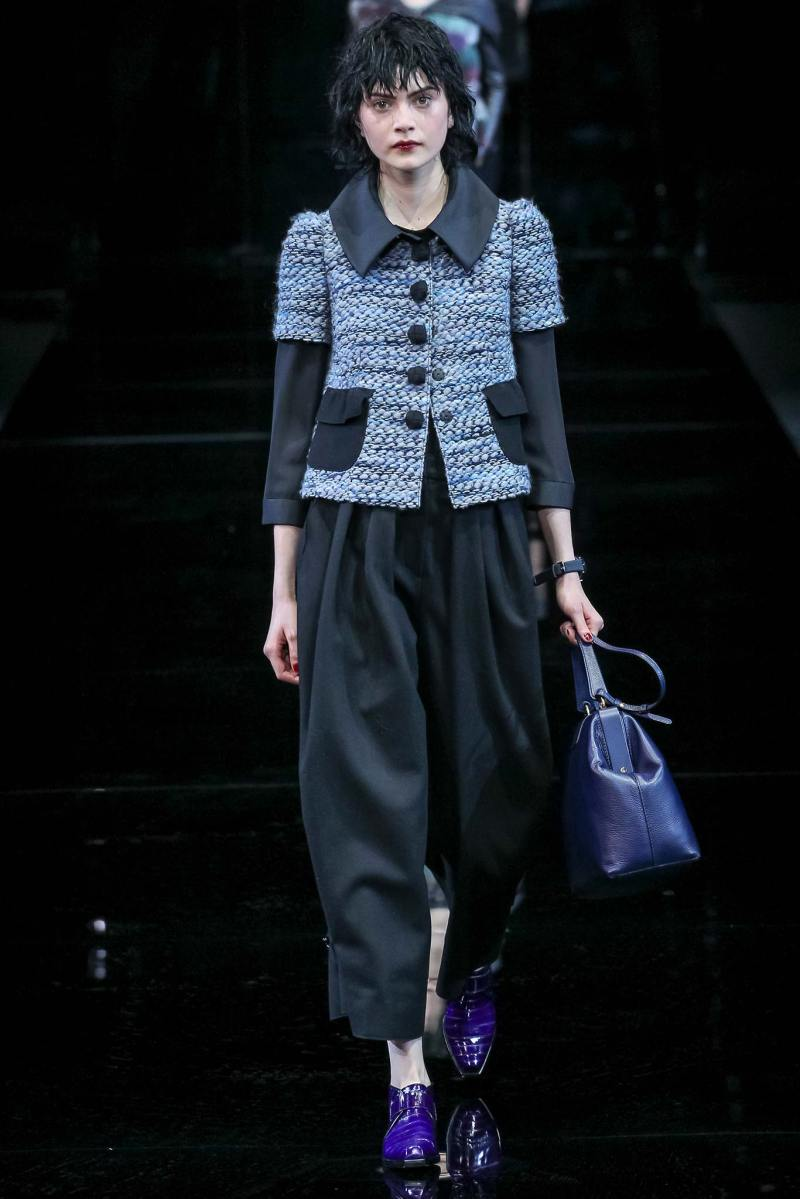 Emporio Armani Ready to Wear FW 2015 MFW (2)