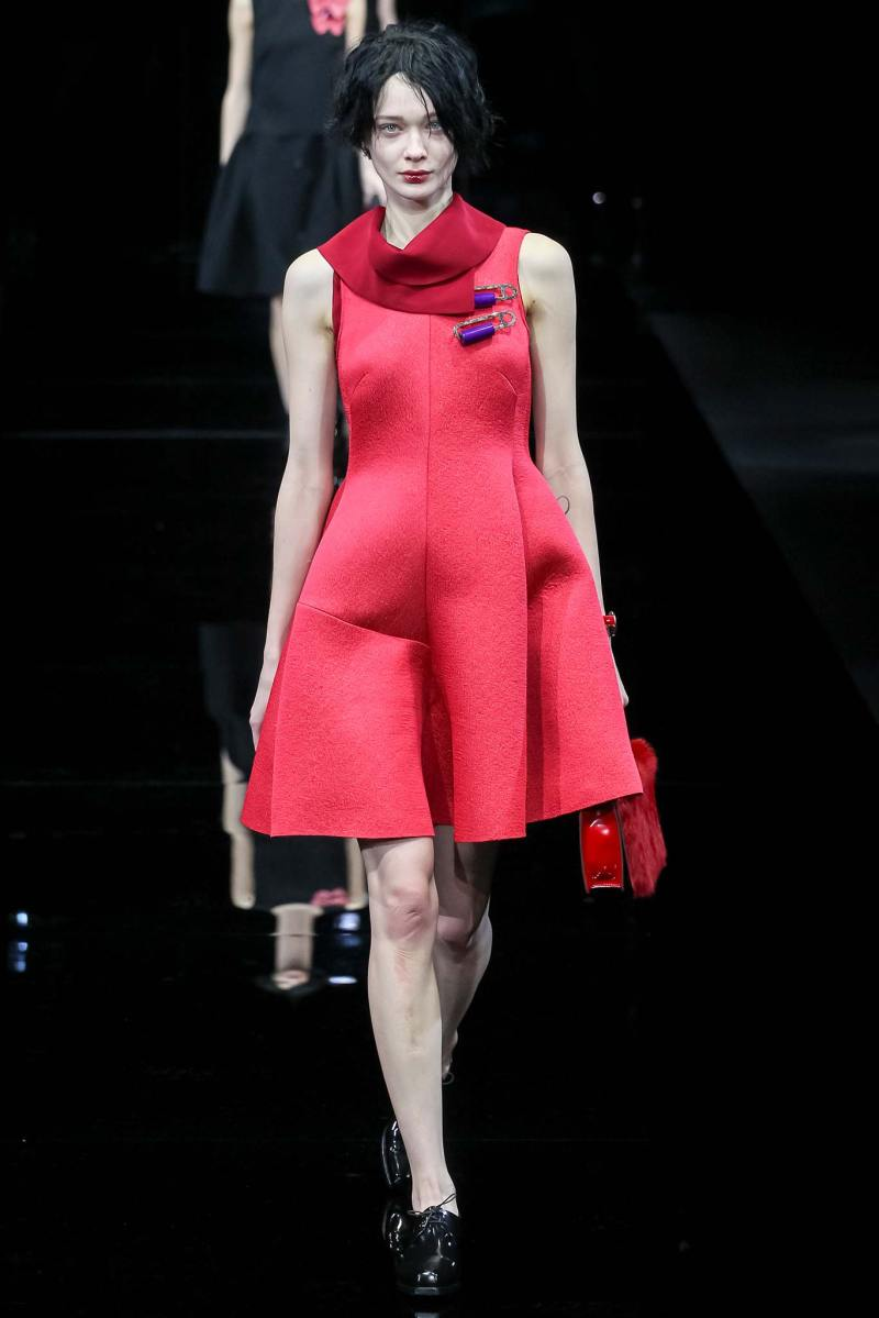 Emporio Armani Ready to Wear FW 2015 MFW (20)