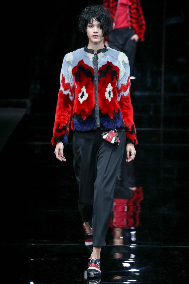 Emporio Armani Ready to Wear FW 2015 MFW (26)