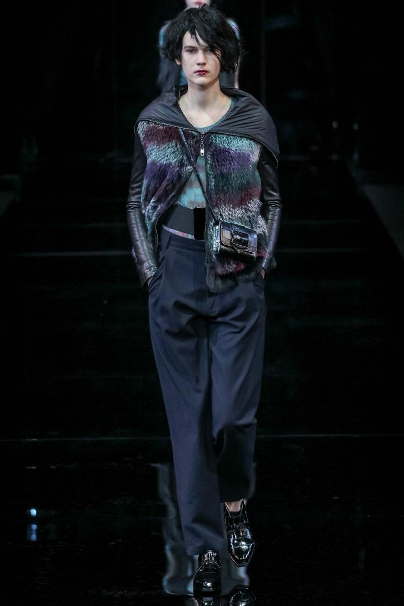 Emporio Armani Ready to Wear FW 2015 MFW (3)