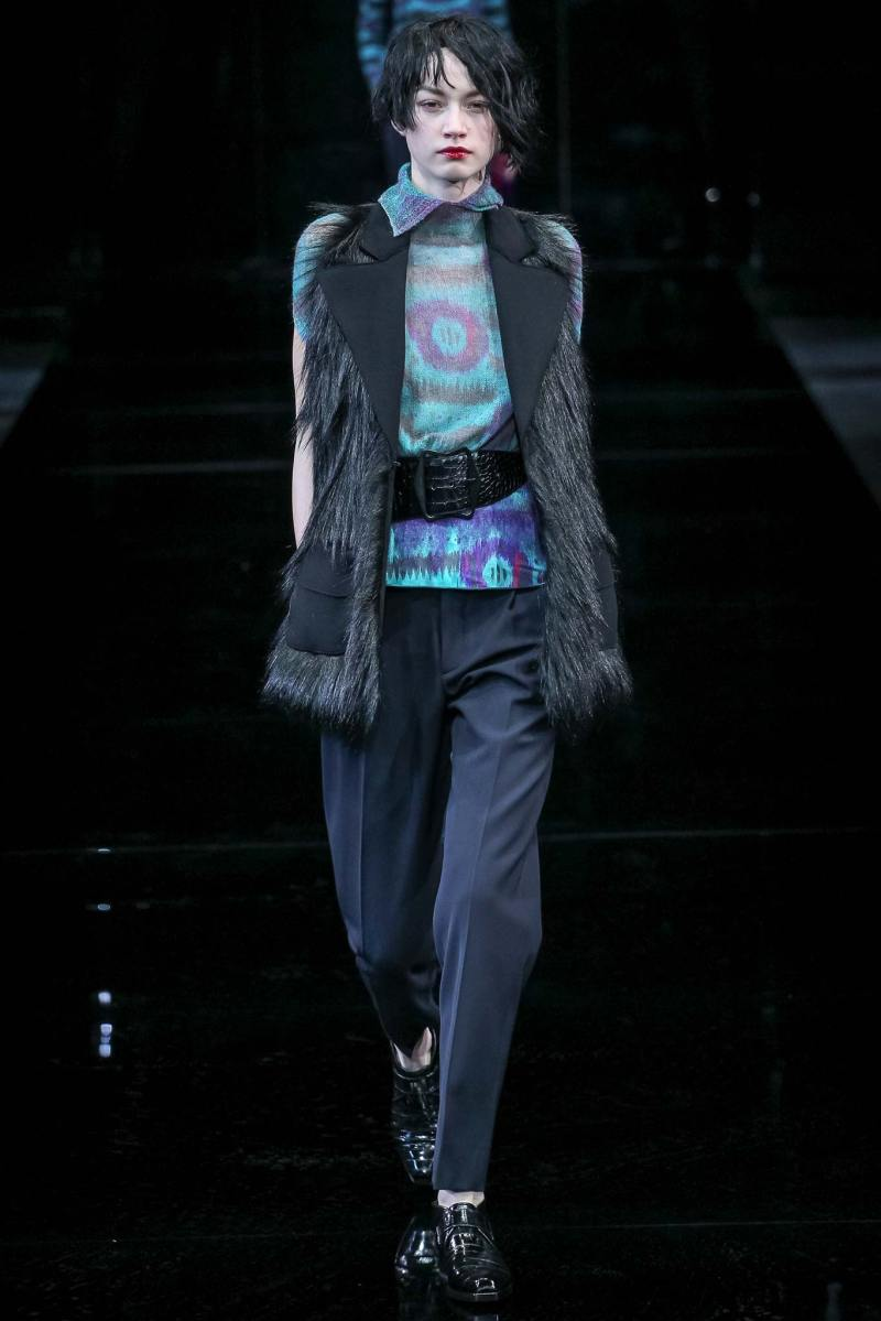 Emporio Armani Ready to Wear FW 2015 MFW (4)