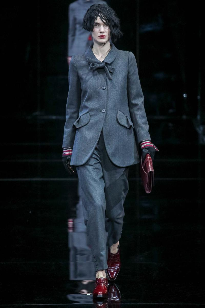 Emporio Armani Ready to Wear FW 2015 MFW (6)