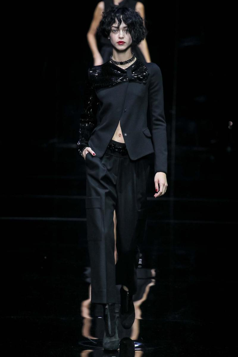 Emporio Armani Ready to Wear FW 2015 MFW (62)