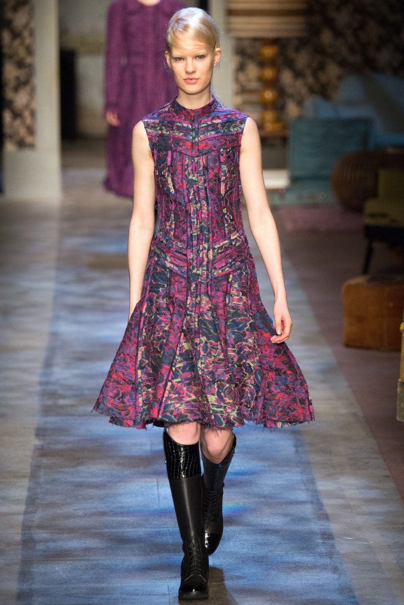 Erdem Ready to Wear FW 2015 LFW (12)