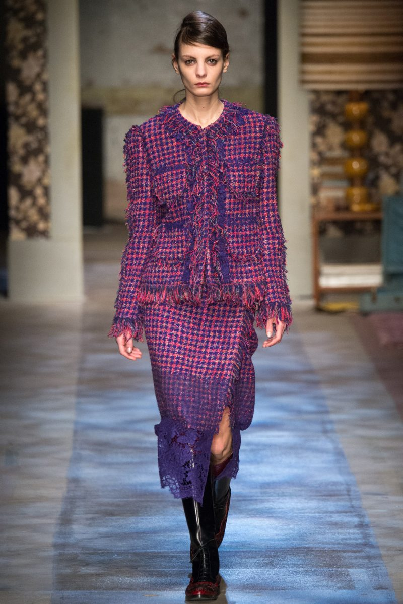Erdem Ready to Wear FW 2015 LFW (14)