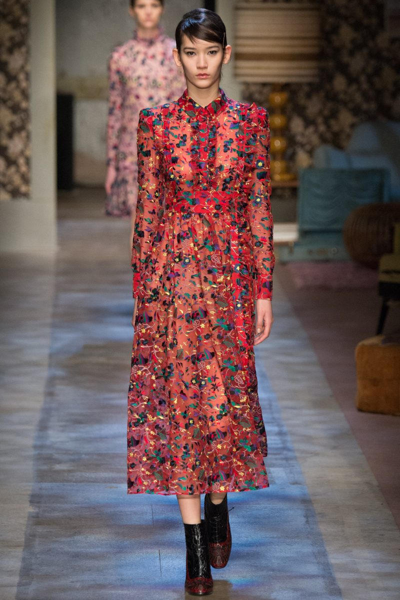 Erdem Ready to Wear FW 2015 LFW (24)