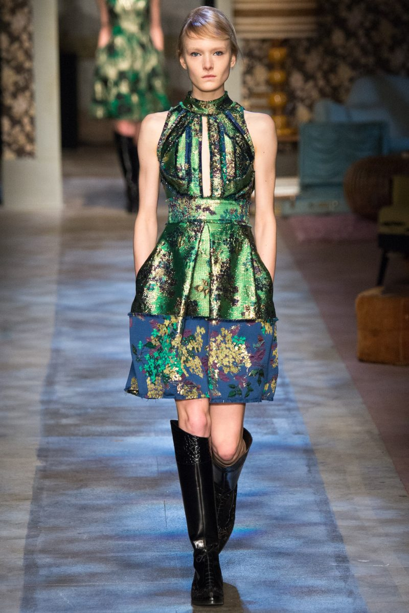 Erdem Ready to Wear FW 2015 LFW (3)