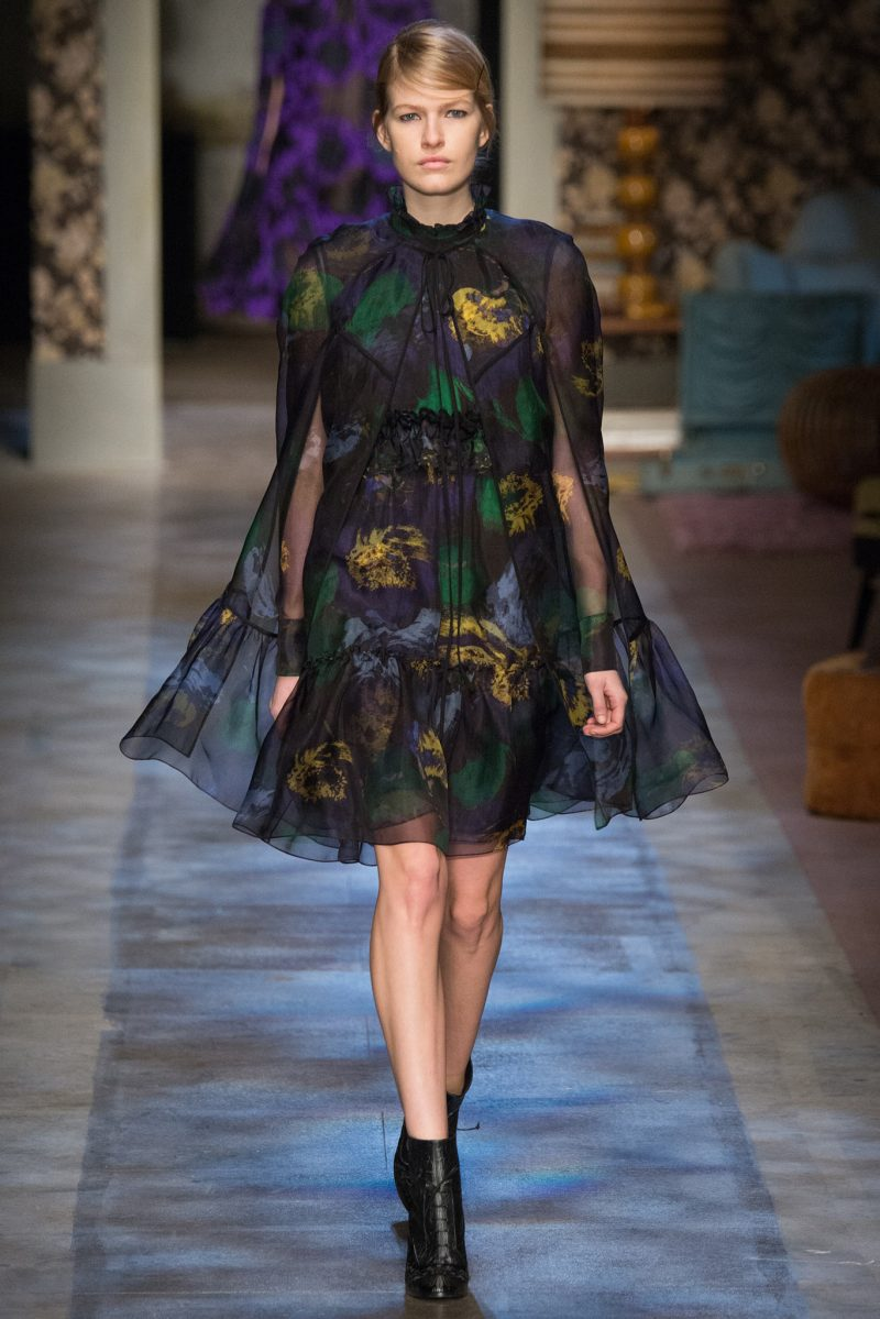Erdem Ready to Wear FW 2015 LFW (30)