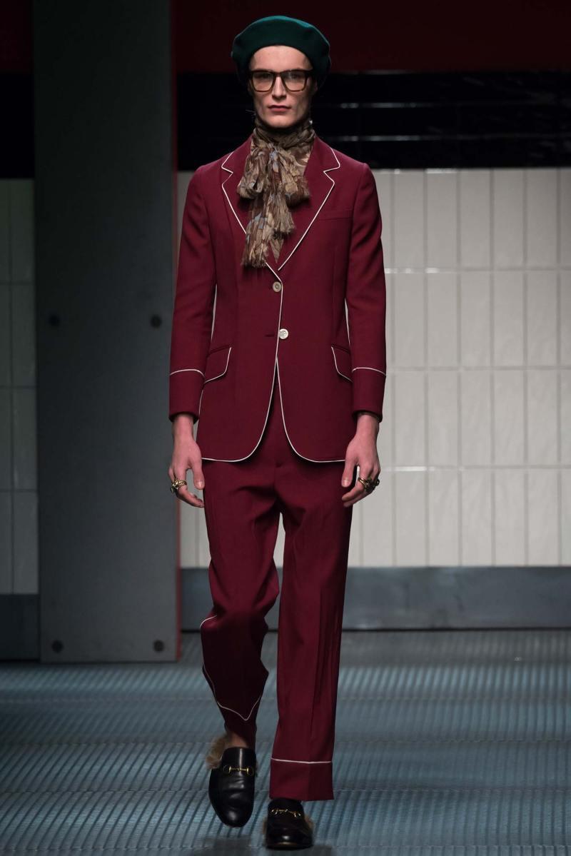 Gucci Ready to Wear FW 2015 MFW (18)