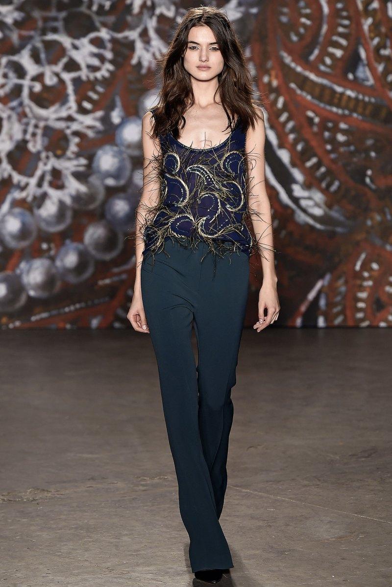 Jenny Packham Ready to Wear FW 2015 NYFW (7)