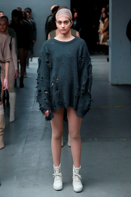 Kanye West x Adidas Originals Ready to Wear FW 2015 NYFW (10)