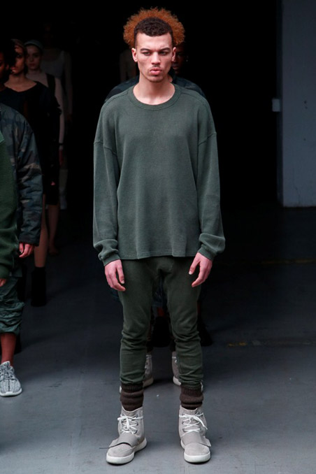 Kanye West x Adidas Originals Ready to Wear FW 2015 NYFW (46)