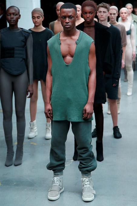 Kanye West x Adidas Originals Ready to Wear FW 2015 NYFW (47)