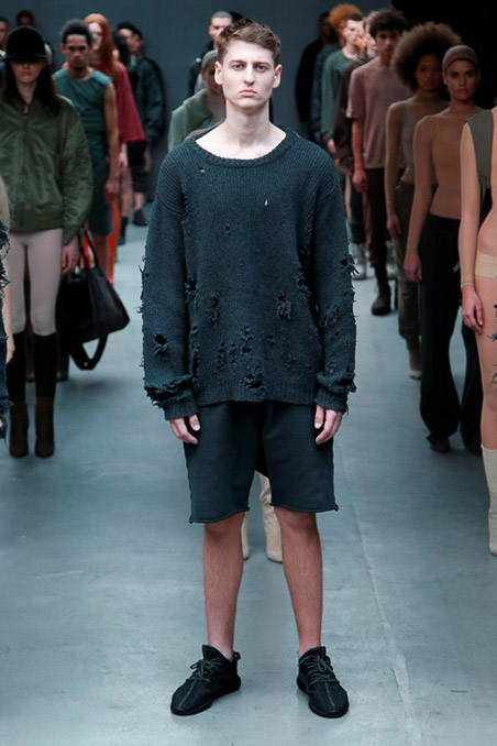 Kanye West x Adidas Originals Ready to Wear FW 2015 NYFW (9)