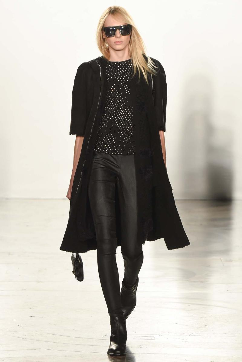 Sass & Bide Ready to Wear FW 2015 LFW (10)
