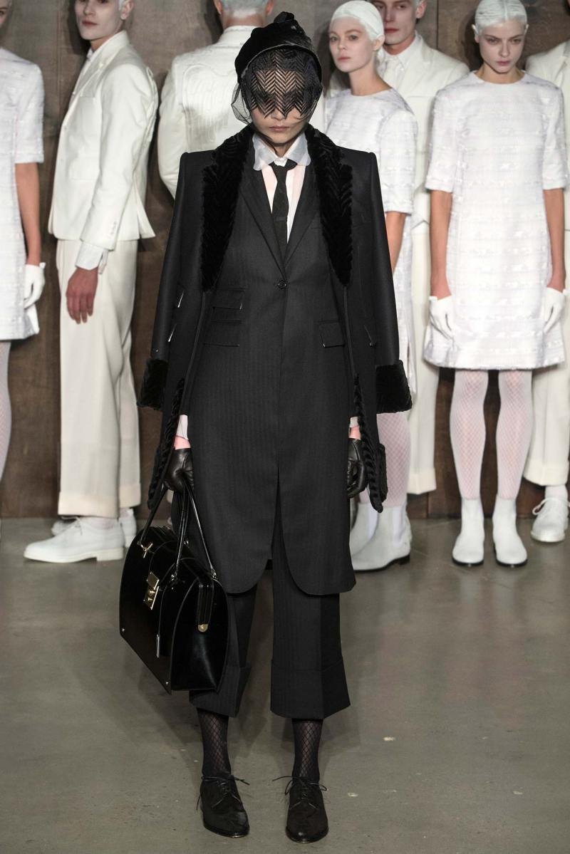 Thom Browne Ready to Wear FW 2015 NYFW (13)