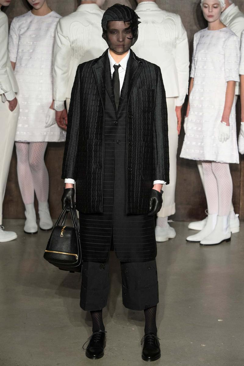 Thom Browne Ready to Wear FW 2015 NYFW (16)