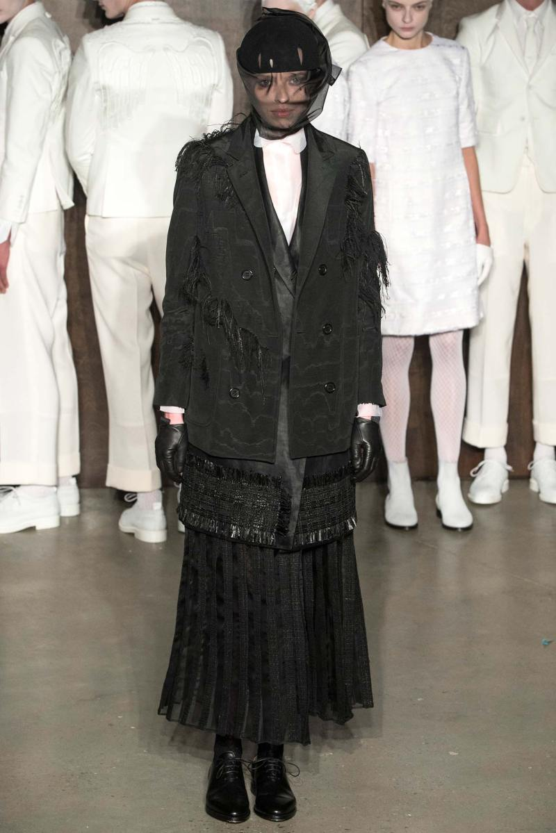 Thom Browne Ready to Wear FW 2015 NYFW (19)