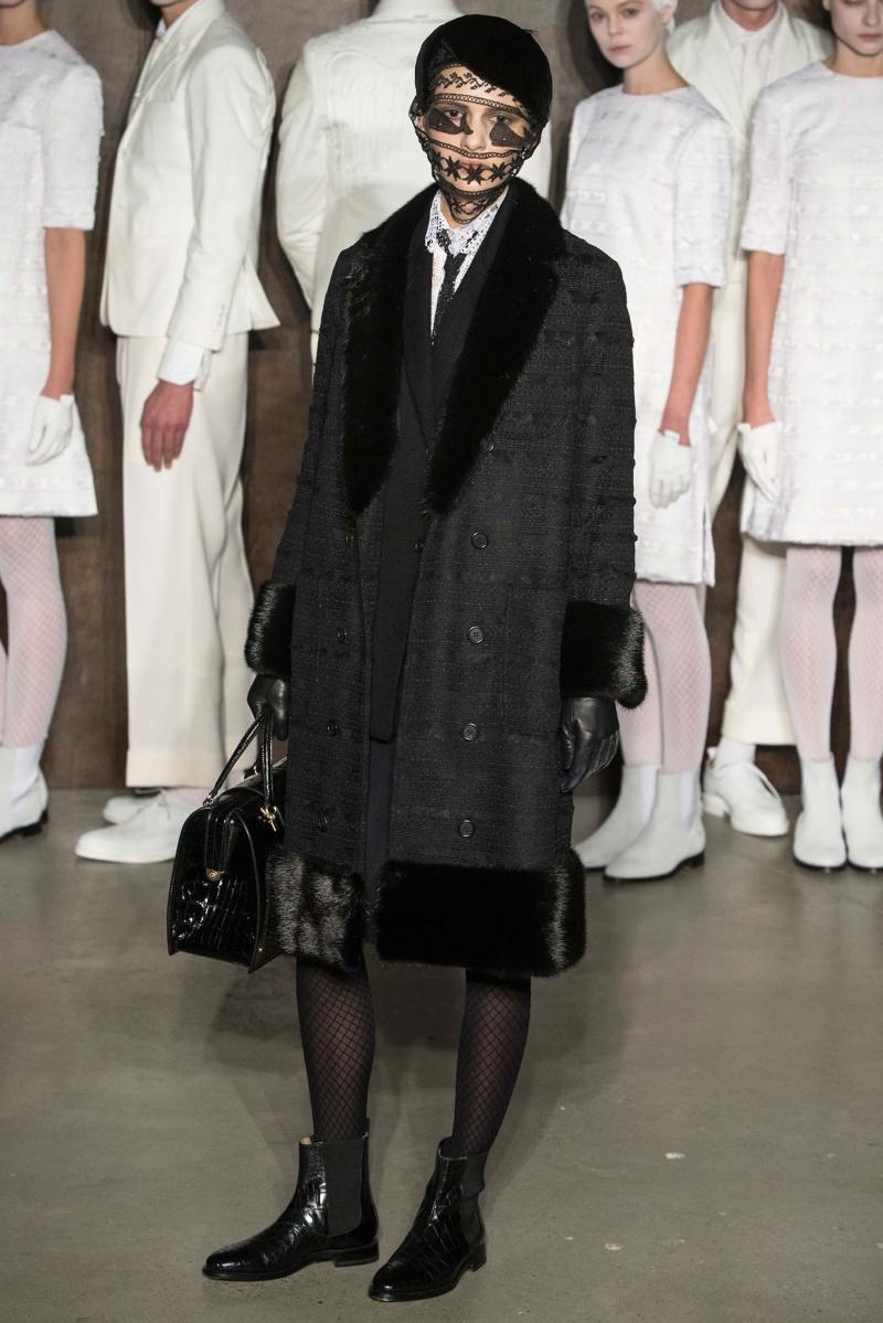 Thom Browne Ready to Wear FW 2015 NYFW (2)