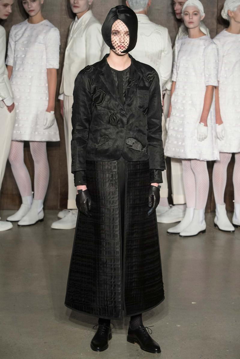 Thom Browne Ready to Wear FW 2015 NYFW (25)