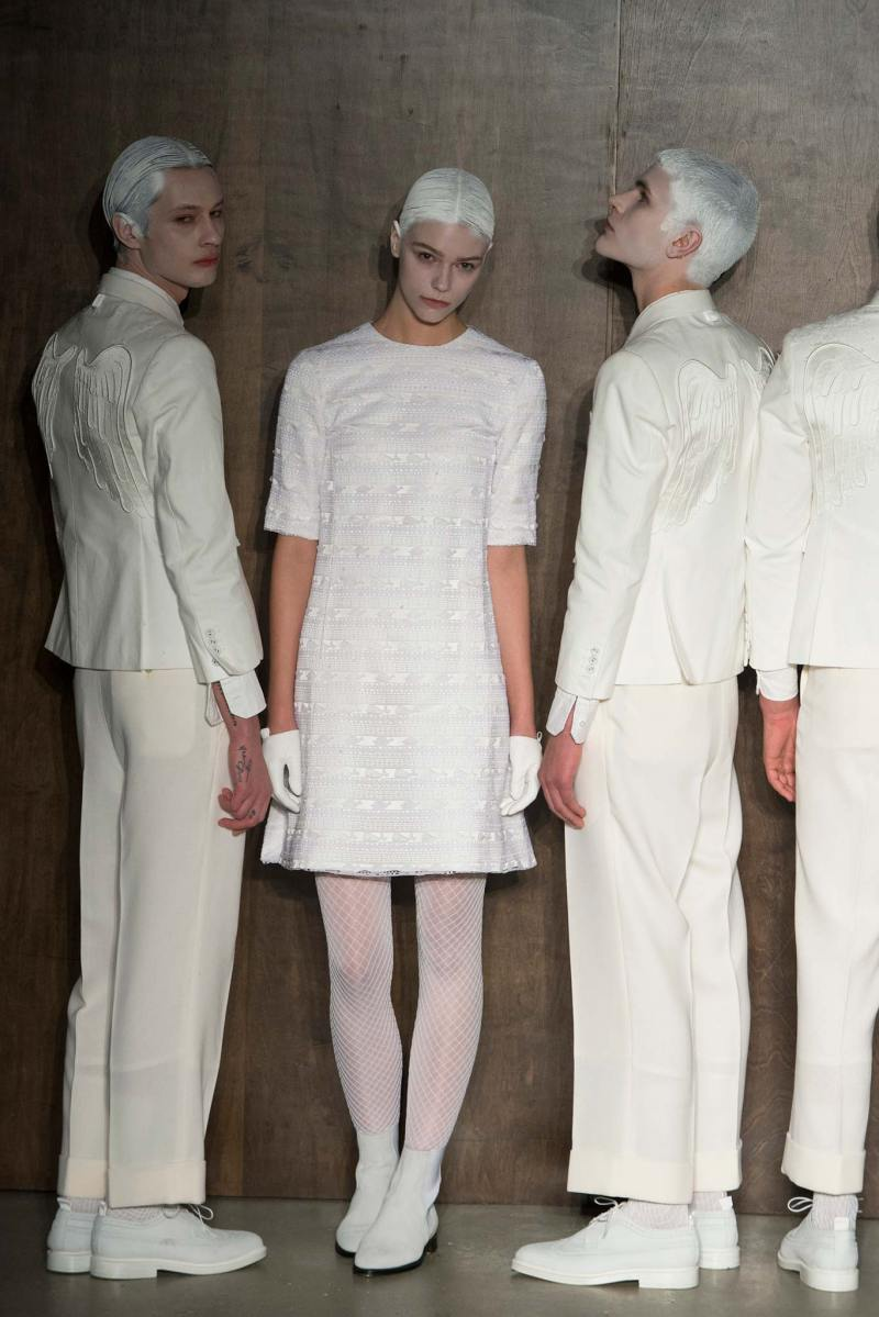Thom Browne Ready to Wear FW 2015 NYFW (42)