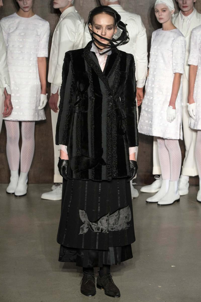 Thom Browne Ready to Wear FW 2015 NYFW (8)