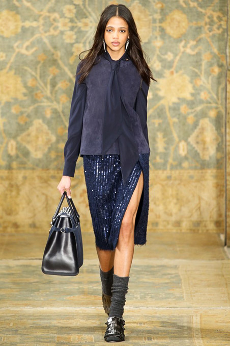 Tory Burch Ready to Wear FW 2015 NYFW (9)