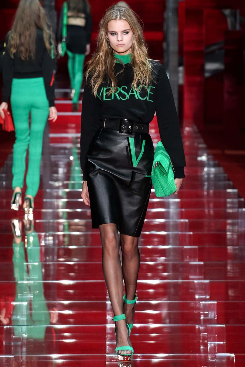Versace Ready to Wear FW 2015 MFW (29)