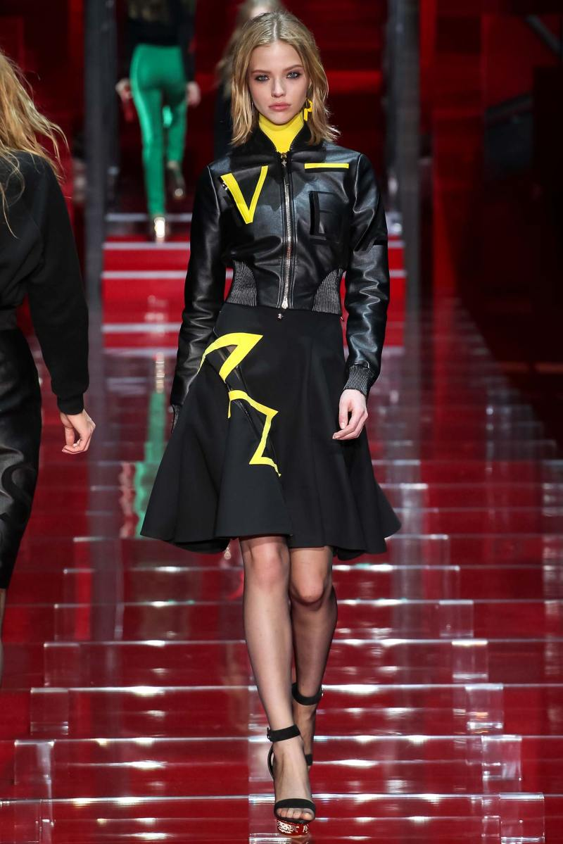 Versace Ready to Wear FW 2015 MFW (30)