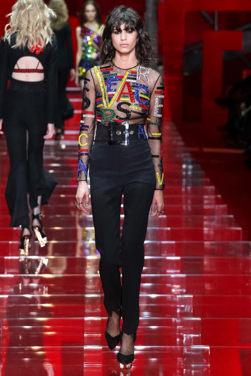Versace Ready to Wear FW 2015 MFW (48)