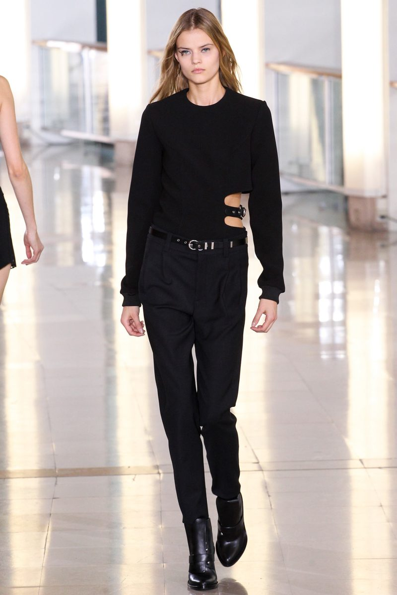 Anthony Vaccarello Ready to Wear FW 2015 PFW (11)