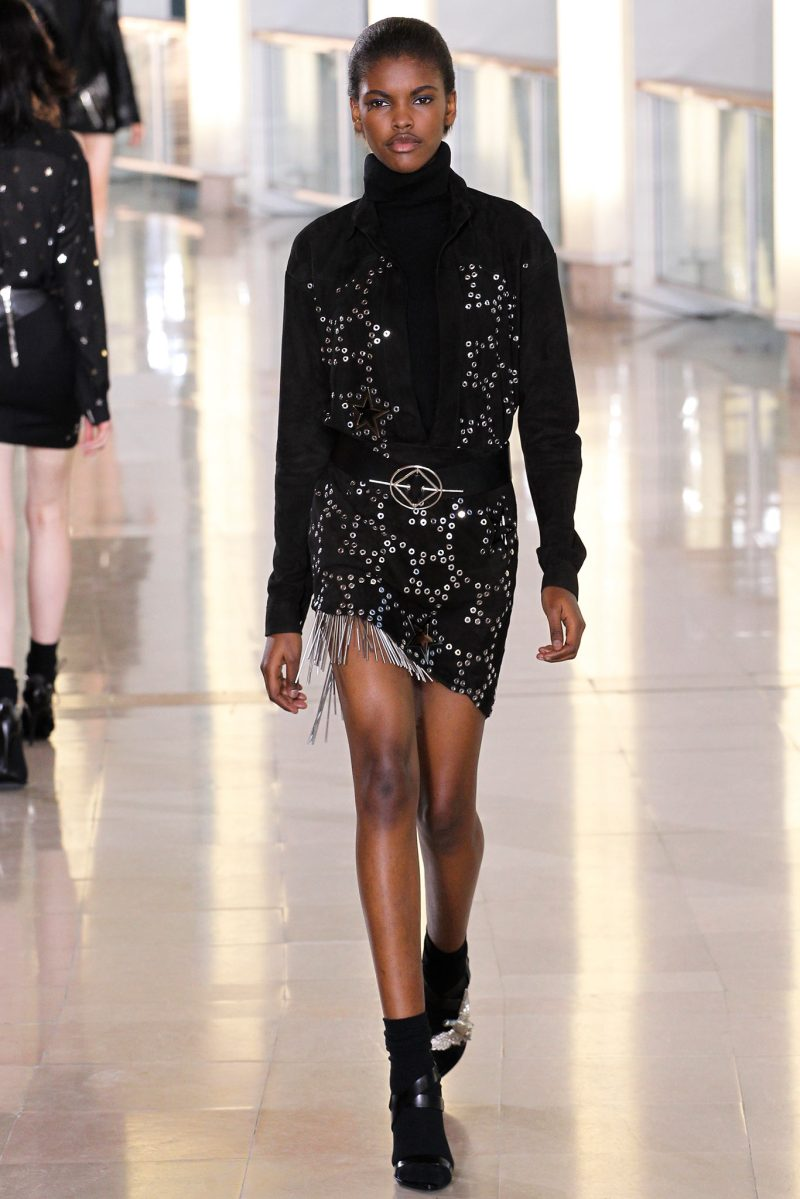 Anthony Vaccarello Ready to Wear FW 2015 PFW (28)