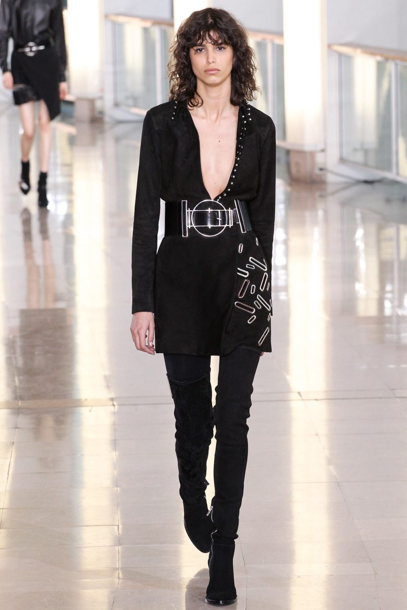 Anthony Vaccarello Ready to Wear FW 2015 PFW (3)