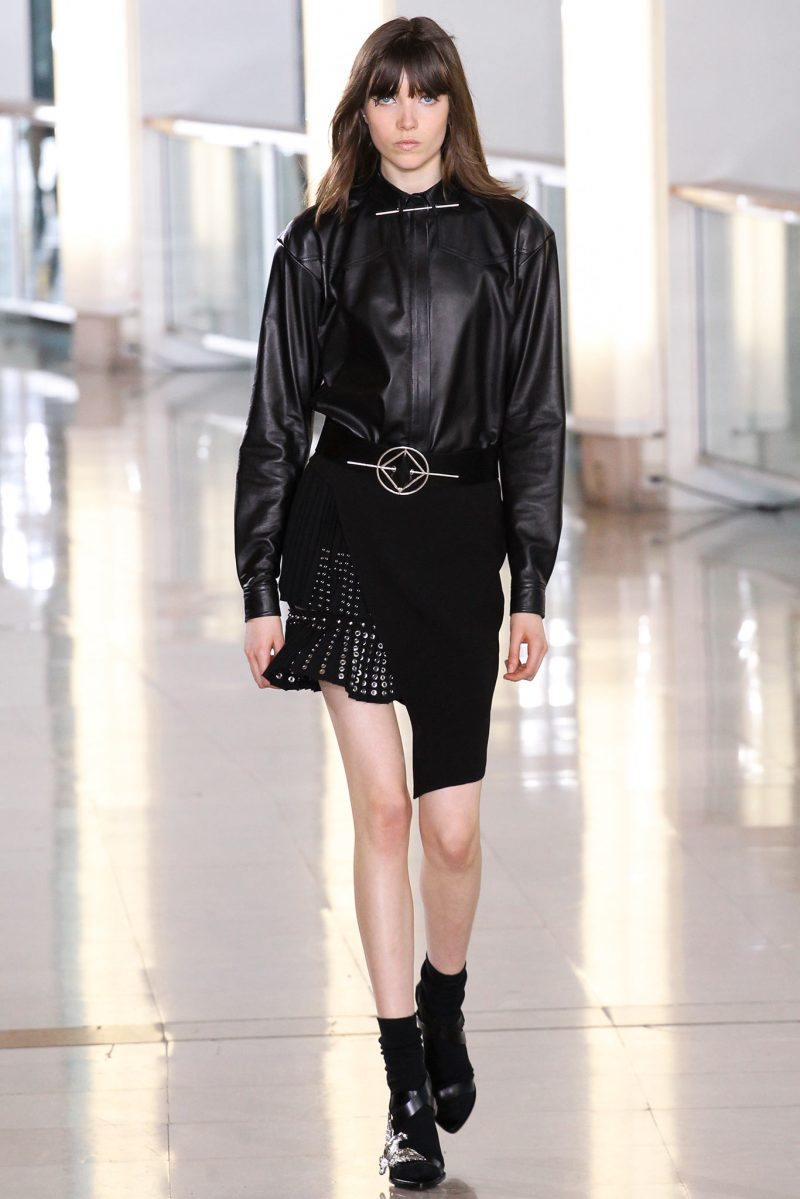 Anthony Vaccarello Ready to Wear FW 2015 PFW (4)