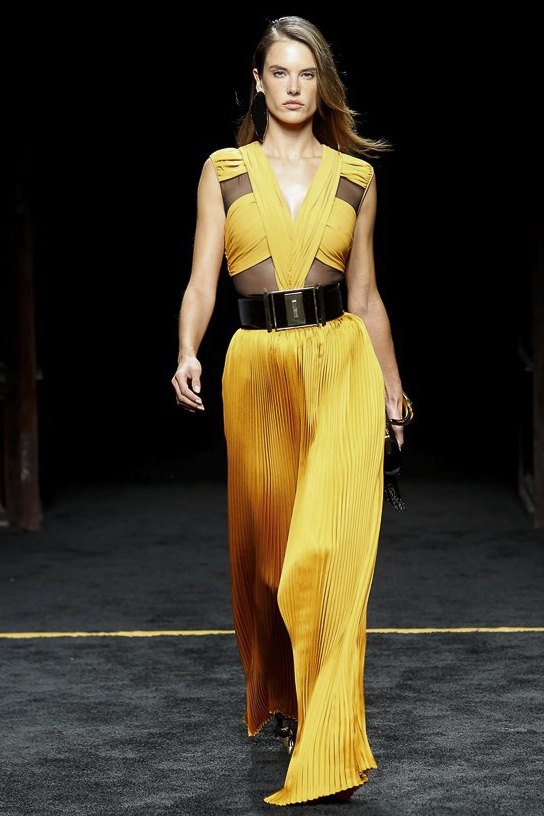 Balmain Ready to Wear FW 2015 PFW (1)
