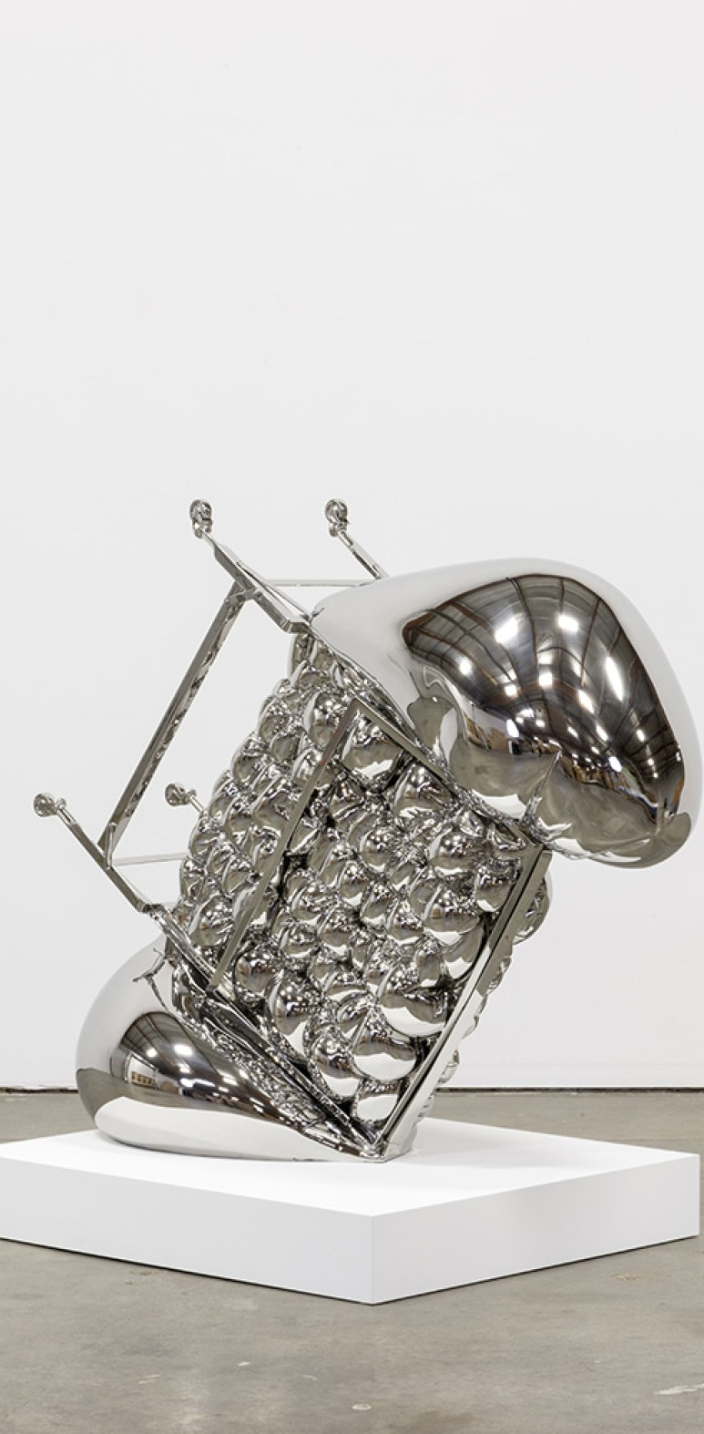 Chrome Sculptures by Joel Morrison