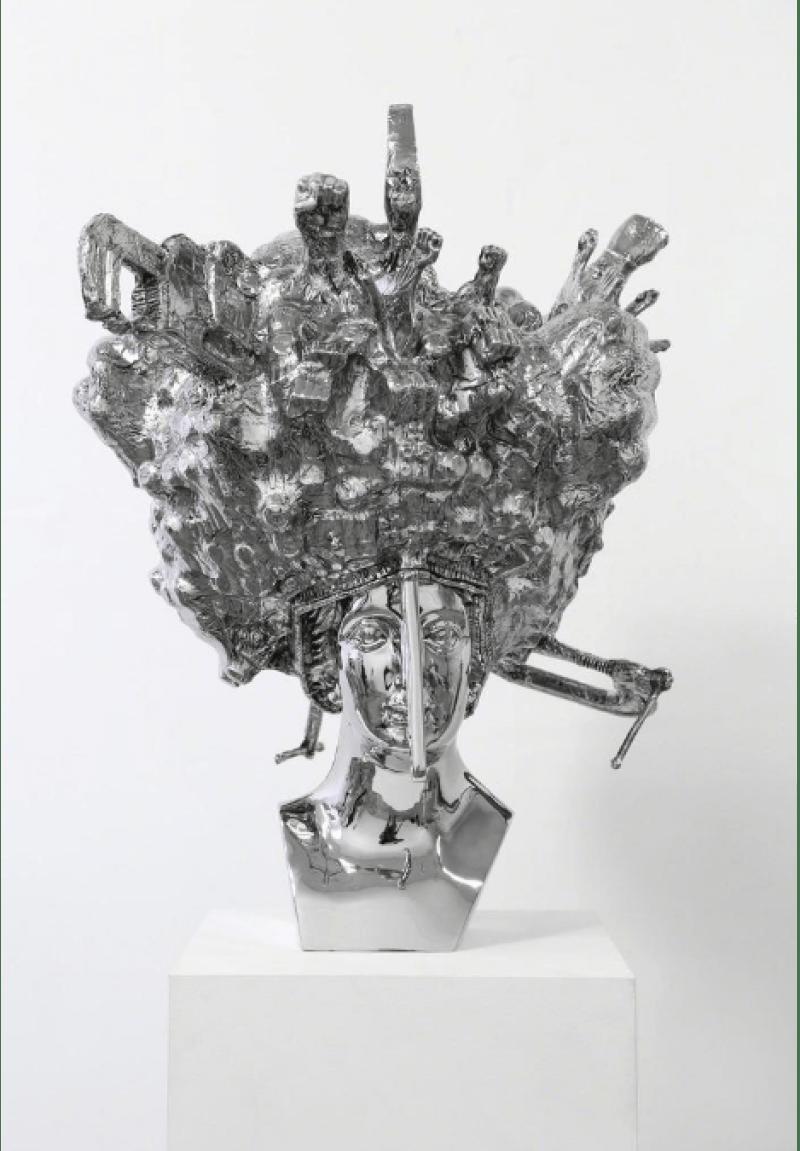 Chrome Sculptures by Joel Morrison