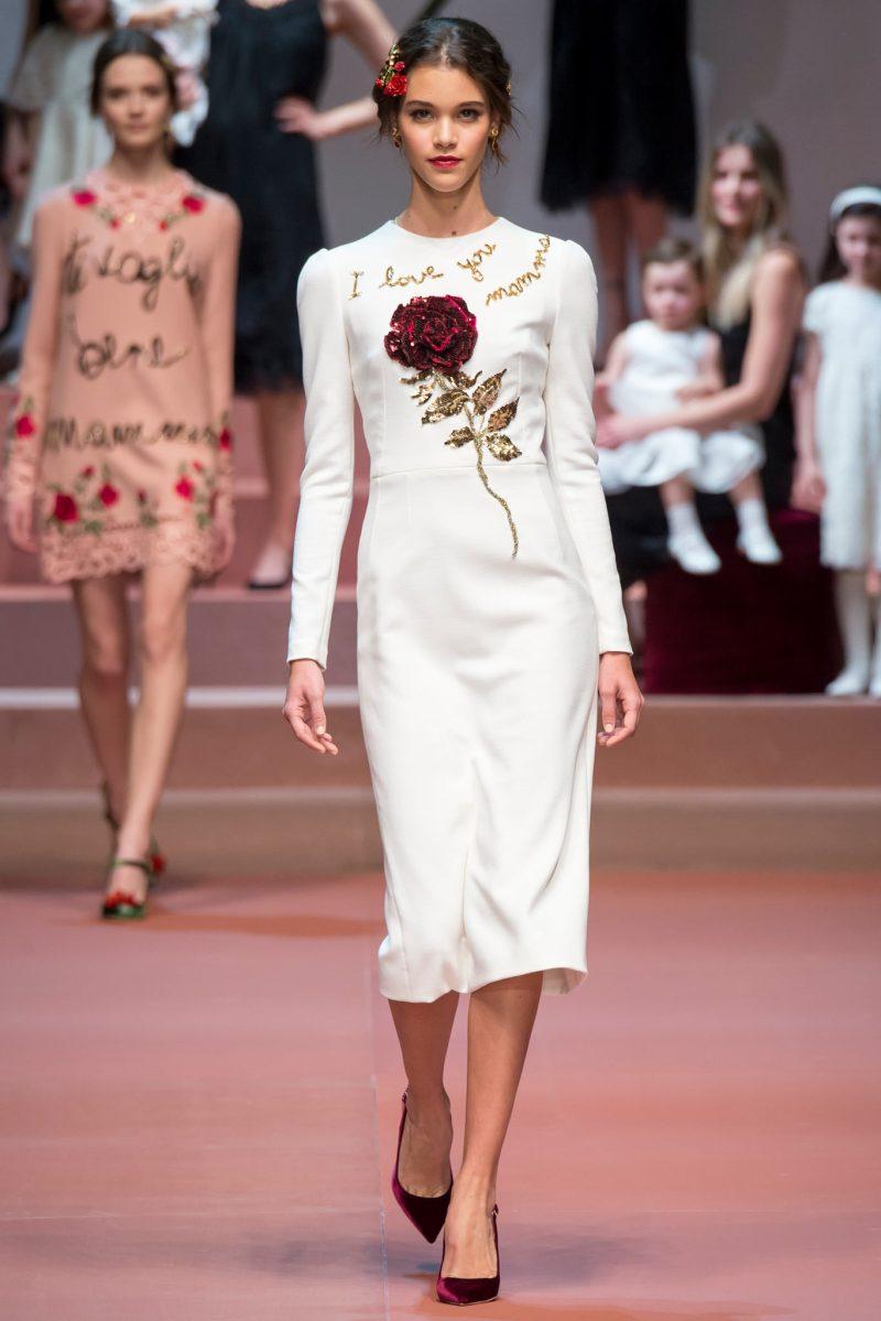Dolce & Gabbana Ready to Wear FW 2015 MFW (1)