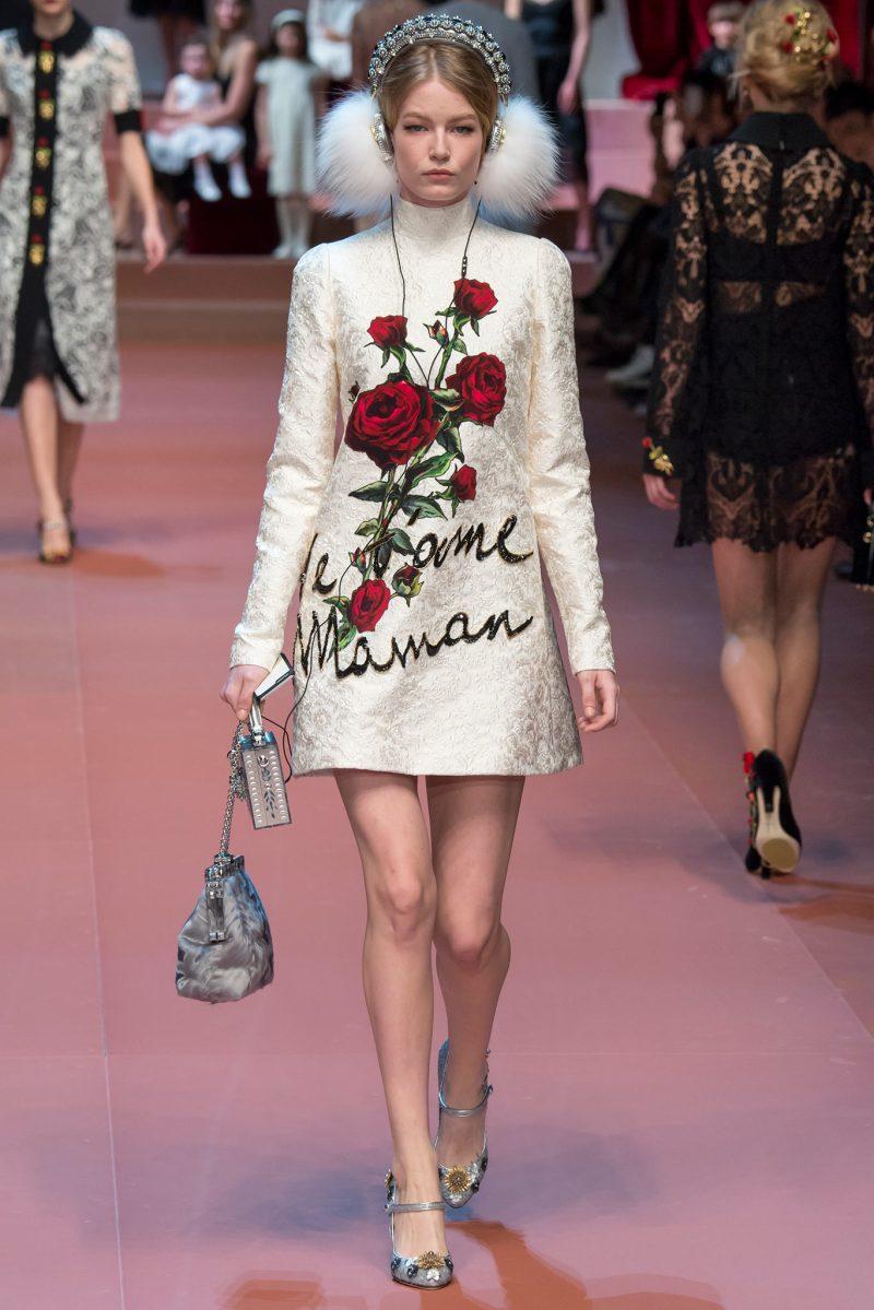 Dolce & Gabbana Ready to Wear FW 2015 MFW (12)