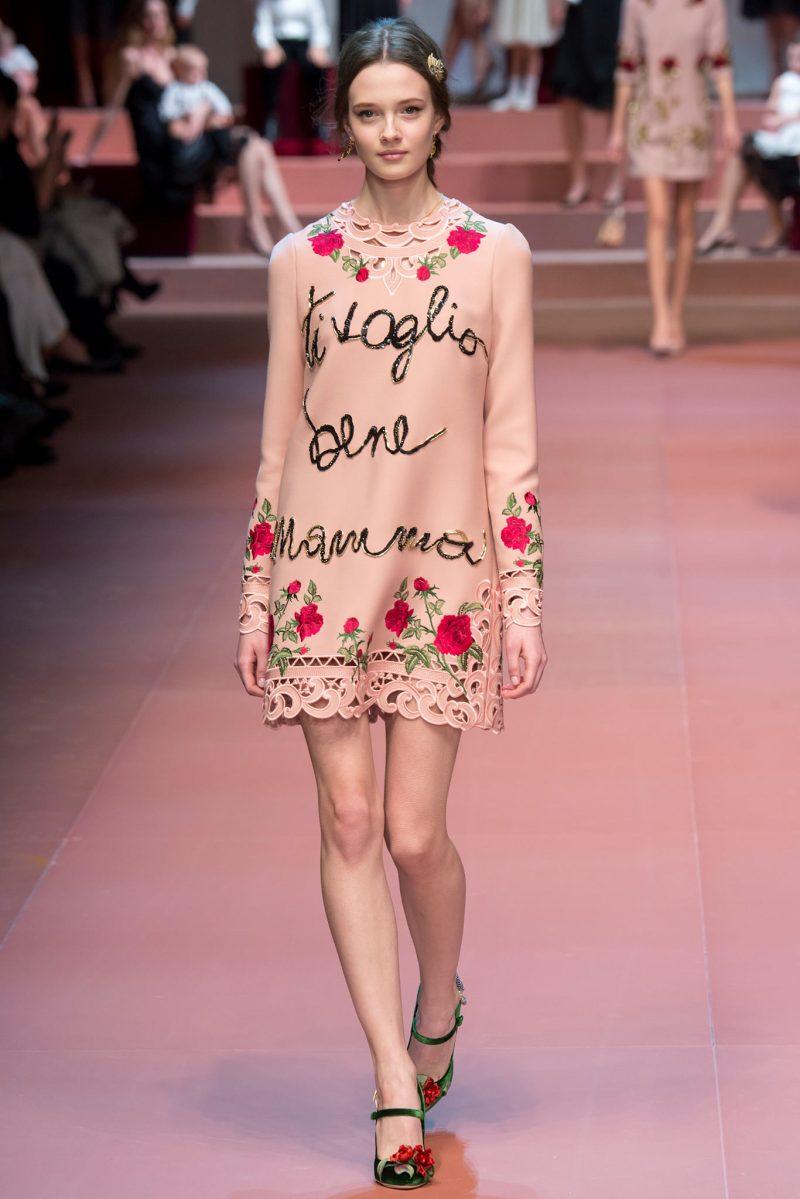 Dolce & Gabbana Ready to Wear FW 2015 MFW (2)