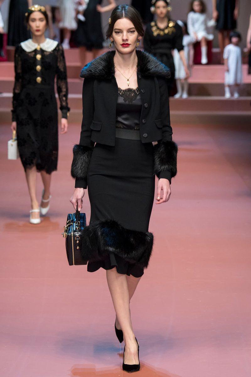 Dolce & Gabbana Ready to Wear FW 2015 MFW (34)