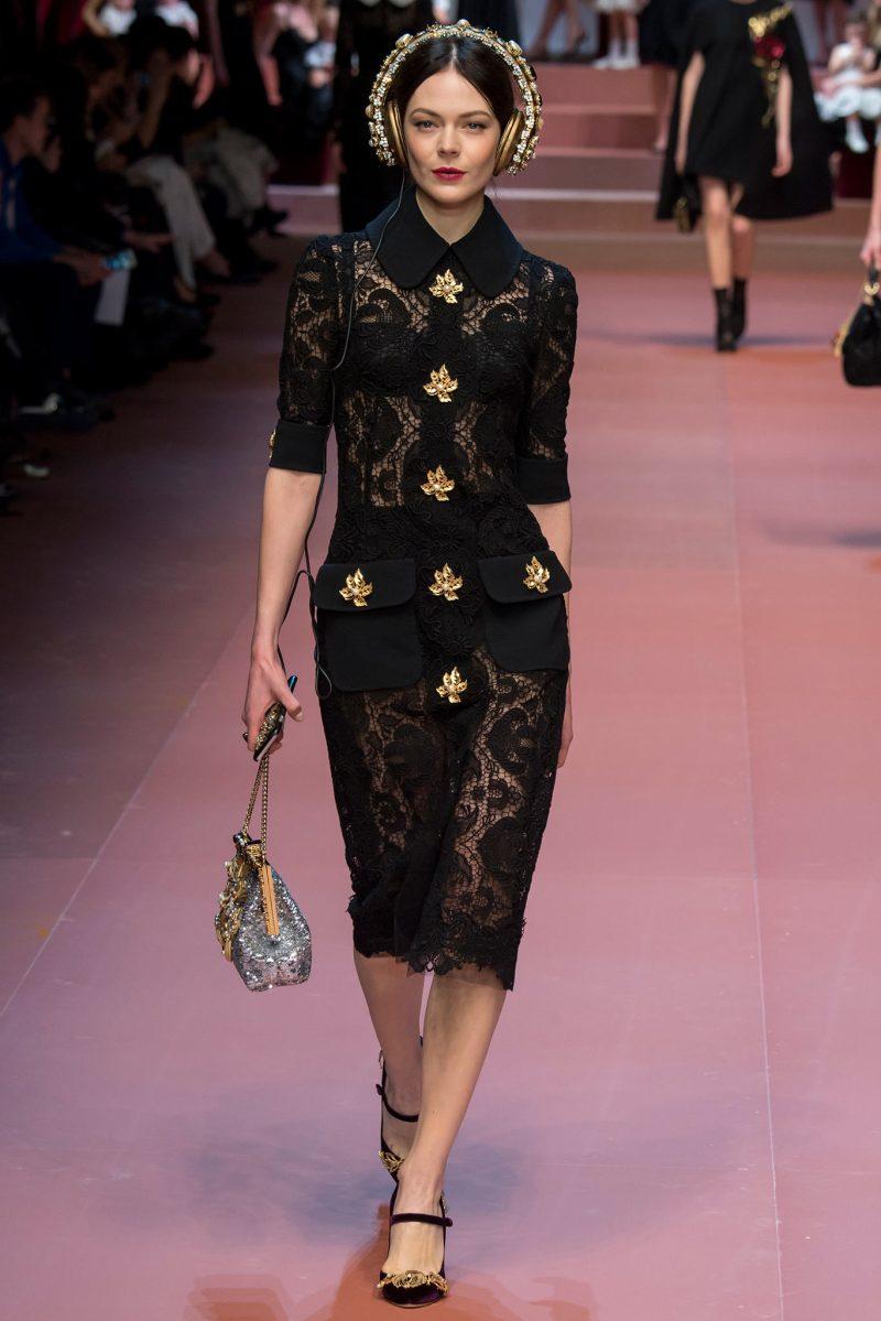 Dolce & Gabbana Ready to Wear FW 2015 MFW (38)